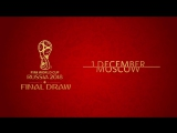 Its almost time for the 2018 FIFA World Cup Final Draw!