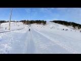 Сэн и таинственное исчезновение Тихиро. Сноуборд и лыжи. День 2.