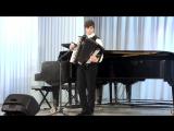 Выпускное выступление в музыкальной школе и пламенная речь директора музыкальной школы