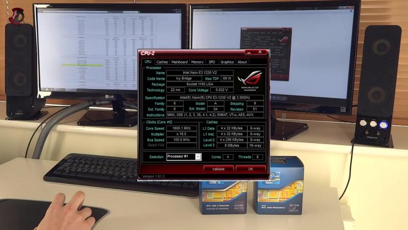 Intel Xeon E3-1230 v2 Vs Intel i5 3570k OC and Stock