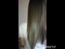 Блестящие и струящиеся натуральные волосы