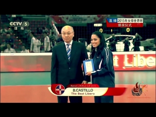 Brenda Castillo ♔ TOP 5 Action Libero Point ♔ ᴴᴰ ®