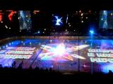 Предматчевое шоу 1/2 финала западной конференции кубка Гагарина...СКА-ДИНАМО(МОСКВА)