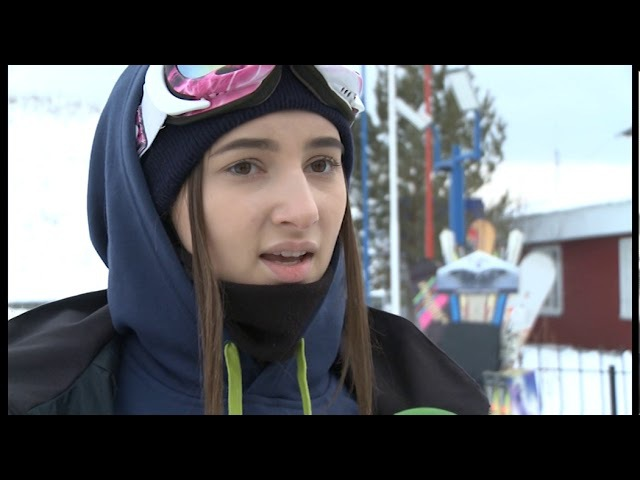 Покорили снежные вершины! В Тюмени прошли соревнования по сноуборду.