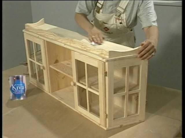 Лессировка деревянных поверхностей окраска древесины материалами Тиккурила