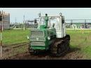 Гусеничный трактор Т-150 1983 года, запуск двигателя и обзор