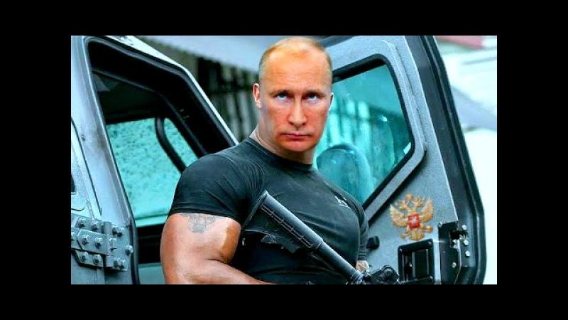 Как десантник Путин Киевскую хунту замочил или Россия не имеет границ. Сатириче ...