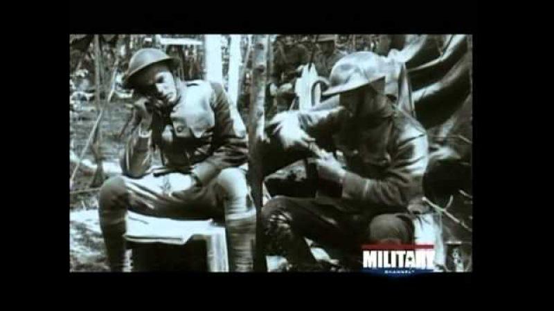 U.S. Marines at Belleau Wood in WWI