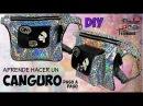 💫💫Como hacer un canguro / riñonera y/o bolso a la cintura💫💫