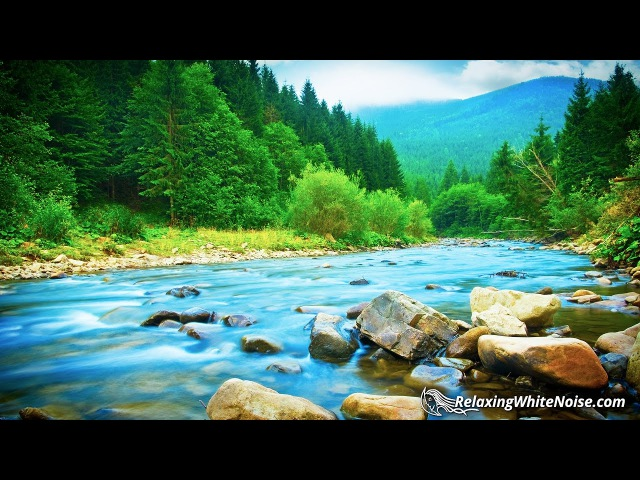 River Relaxation Sounds White Noise   Soothing Nature Audio for Studying, Sleep   10 Hours