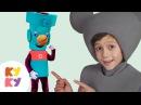САМОДЕЛКИН - КУКУТИКИ - Собираем машинку -Развивающая детская песенка мультик про инструменты винтик