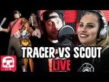 Tracer Vs Scout Rap LIVE JT Machinima (feat. Andrea Storm Kaden)