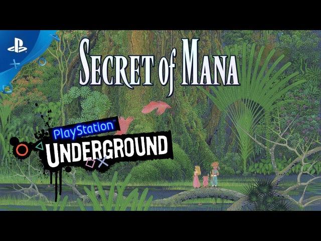 Secret of Mana PS4 Gameplay   PlayStation Underground