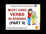 Spanish Lesson 39 - 100 Most common VERBS in Spanish PART 9 Most used Spanish basic words for kids
