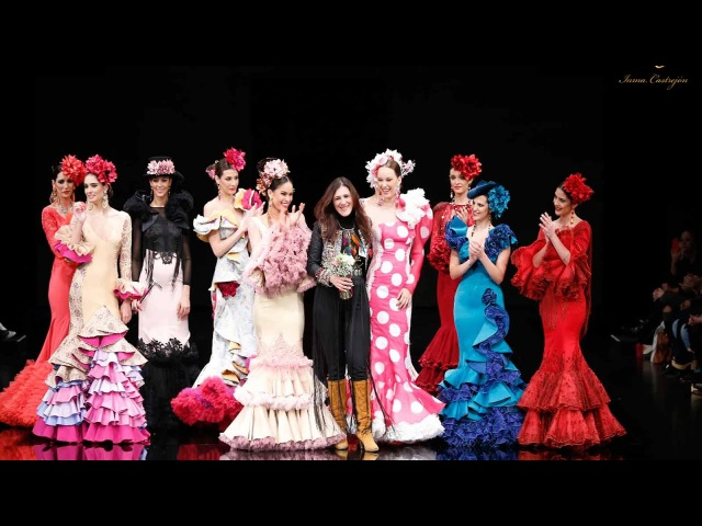 Trajes de Flamenca 2017 Inma Castrejón colección Flamingo SIMOF Moda Flamenca Sevilla