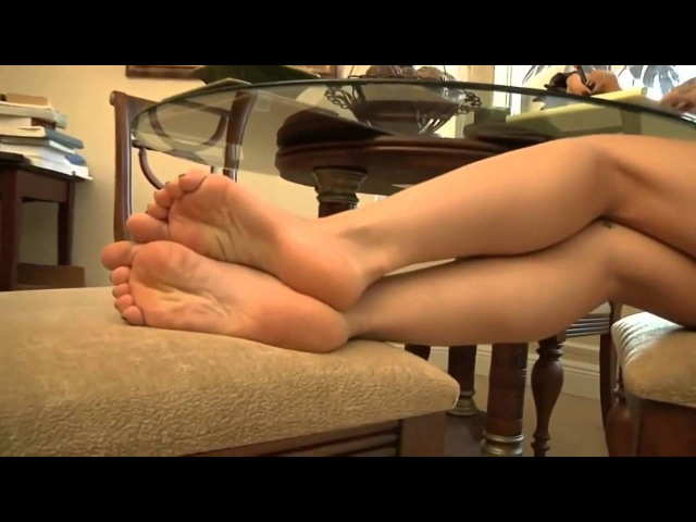 Beautiful feet and toes soles