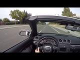 B7 Audi s4 v8 pov drive