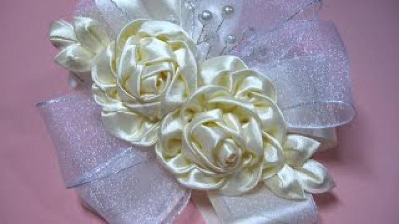 DIY -Tiara dos rosas Dy tiara Dos Rosas