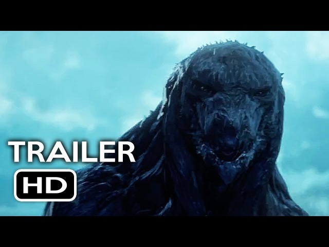 Godzilla Monster Planet Official Trailer 2 2017 Netflix Animated Movie HD
