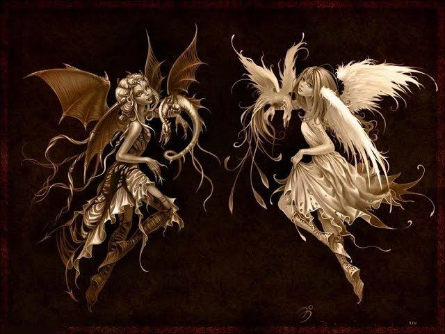 []Пара па[] Ангел или демон Забавные моменты за кадром