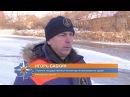 Внимание взрослые На тонком льду рек и озёр дети подвергают себя смертельной