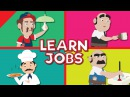 Jobs and Occupations for Kids | What Do They Do? | Kindergarten, EFL and ESL | Fun Kids English