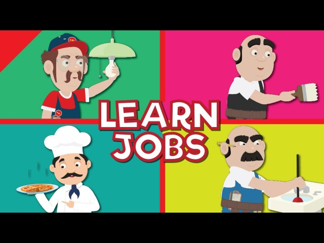 Video Flash Cards - Jobs and Occupations 2