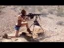 Girl shoots Barrett .50 BMG and AR15