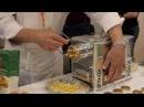 Marcato Ristorantica 2 Фузилли Ригатони Канеллони пошаговый видео рецепт pasta fresca