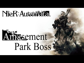 NieR: Automata OST A Beautiful Song / Opera Singer Boss Theme +Gameplay / Spoilers