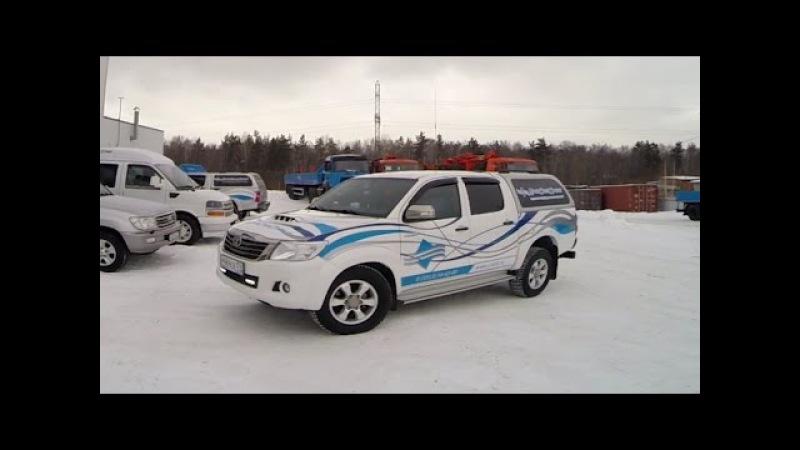 Пикап Toyota Hilux - помощник в компании УралСпецТранс.