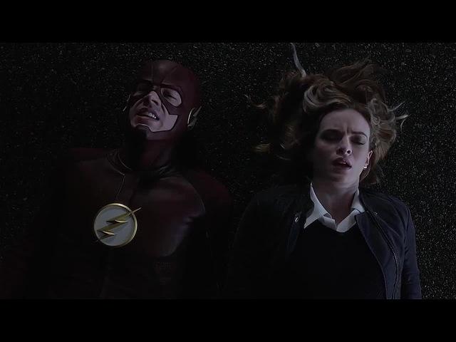 The Flash, Barry Caitlin killer Frost Kiss - The Flash 3x07 (Ultra-HD 4K) · coub, коуб