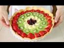 Crostata di Frutta Ricetta per Base Crema e Gelatina Homemade Fruit Pie Recipe