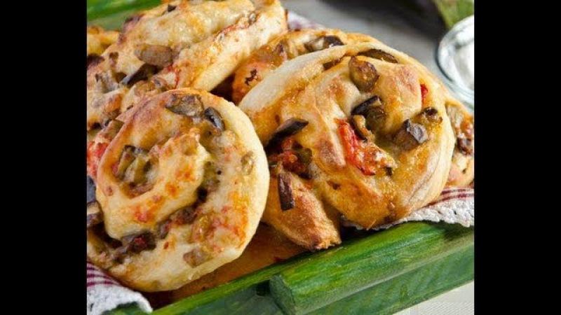 Girelle farcite con pomodorini, olive e spek,Ricetta semplice e veloce