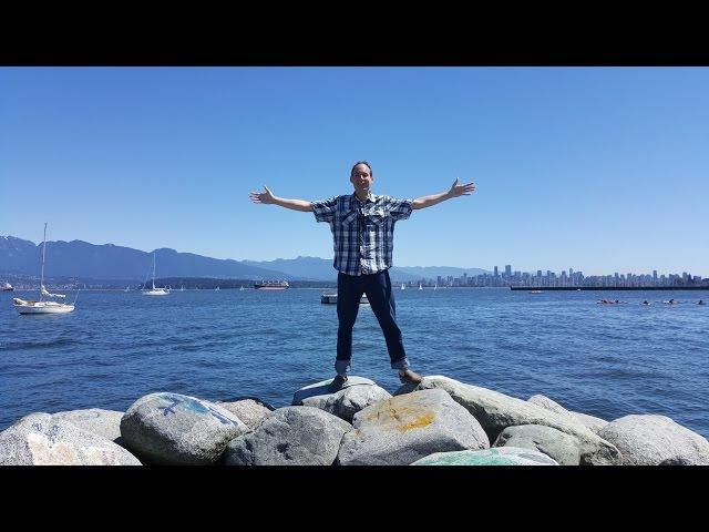 126 - Ванкувер. Океан, горы, небоскребы