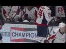Хоккеист Овечкин упал за бортик во время матча и рассмешил всех