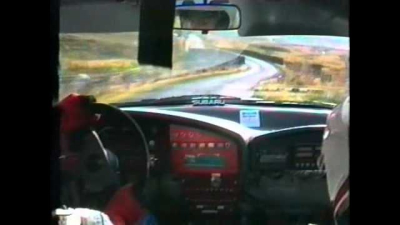 Colin McRae Onboard - BRC 1992 - Elbow Ulster Rally