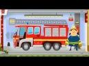 Пожарная станция и пожарники и их 🚒пожарная машина тушит пожар. Мультики про ма...