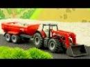 СБОРНИК: Мультфильмы про Машинки Трактор, Грузовик, Кран на стройке - Развивающи