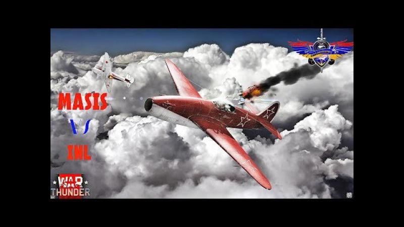 War Thunder-Полковые бои-MASIS VS INL(победа за нами)12