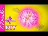Cintillo o Diadema con Flor de Encaje / Lace & Ribbon Flower Headband   Video# 37   SDetalles   DIY
