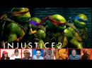 Reactors Reaction To The Ninja Turtles Being Added To Injustice 2