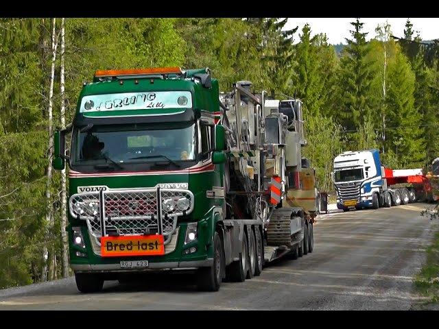 Volvo FH16 700 8X4 - Scania R730 10X4 - Volvo FH16 610 6X4 XXL - Volvo FH16 750 8X4 With Wide Loads