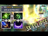 OMG 3x ECLIPSE ULTRA KILL +Scepter Comeback by Notail 20k Damage Combo Refresher Shard Dota 2