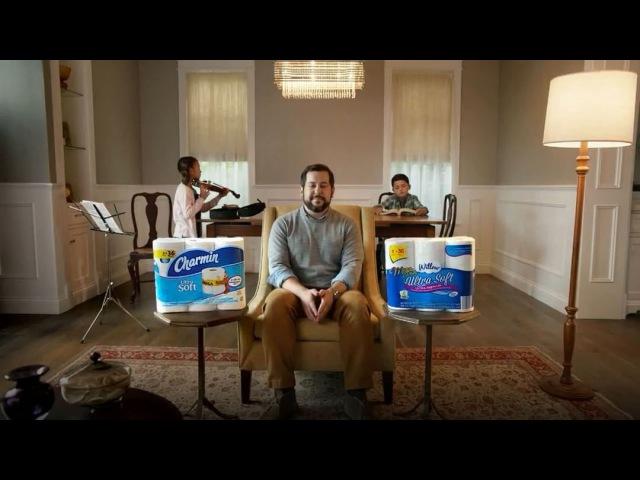 Скарлетт в рекламе для туалетной бумаги «Willow»