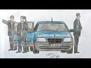 Как нарисовать машину Мерседес Кабан Ehedov Elnur How to Draw a Car Easy Step by Step