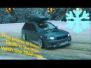 Subaru Legacy Drift in the snow