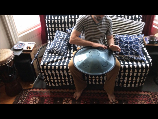 RAV VAST handpan - B Celtic Minor