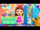 Fun Kids Color Learning Game - Sweet Baby Girl Clean Up 5 - Kids Learn Clean Up, Make Up Wash Dishes