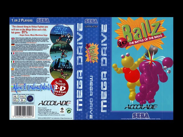 [NostalgiA] [SEGA Genesis Music] Ballz 3D - Full Original Soundtrack OST
